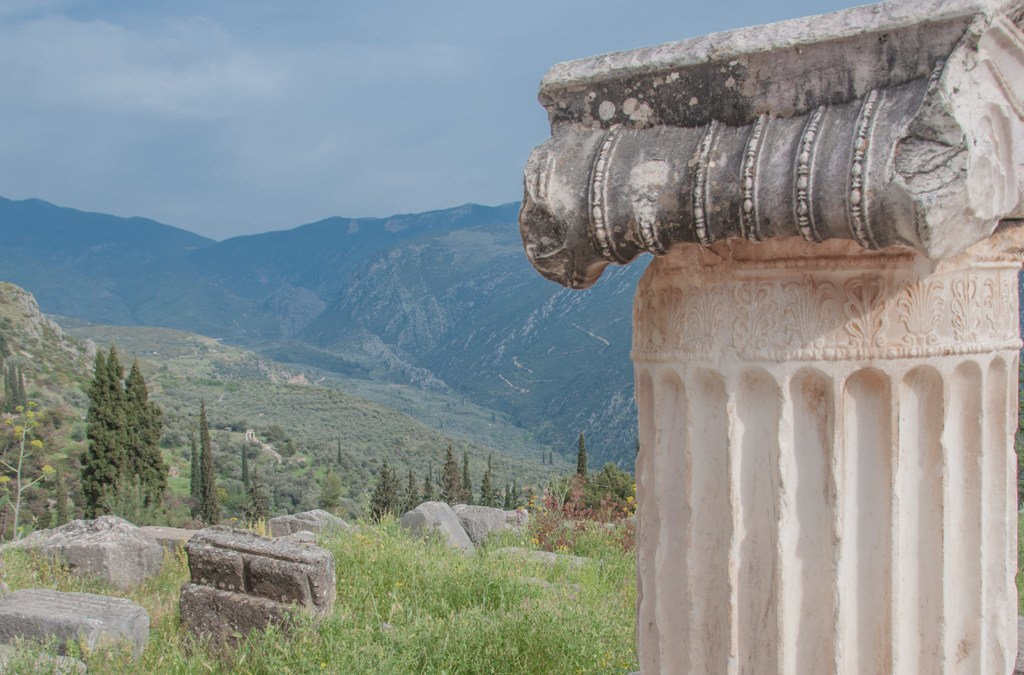 Greece - Delphi Archological Site.
