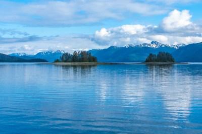 Alaska -Alexander Archipelago dawn.