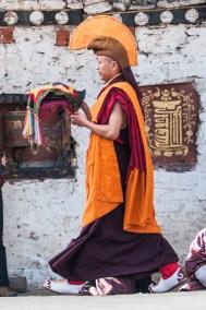 Bhutan -Tamshingphala Festival ritual.