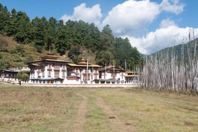Kurje Lhakhang in Jakar