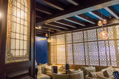 Bar at Le Train Bleu