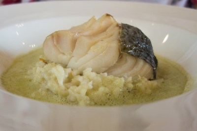 Steamed Cod.