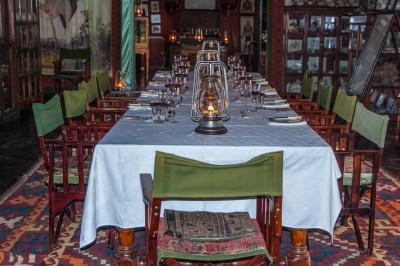 Botswana - Kalahari Dinner.