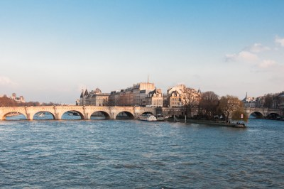 The Pont Neuf and the Ile de la Cité.