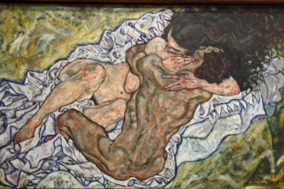 Egon Schiele - The Embrace.