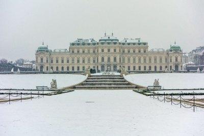 Austria - Vienna Upper Belvedere
