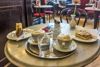 Austria - Vienna coffee break.