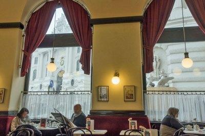 Austria - Vienna Café Griensteidl Cafe.