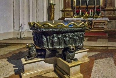 Austrial - Salzburg Cathedral Baptismal Font.