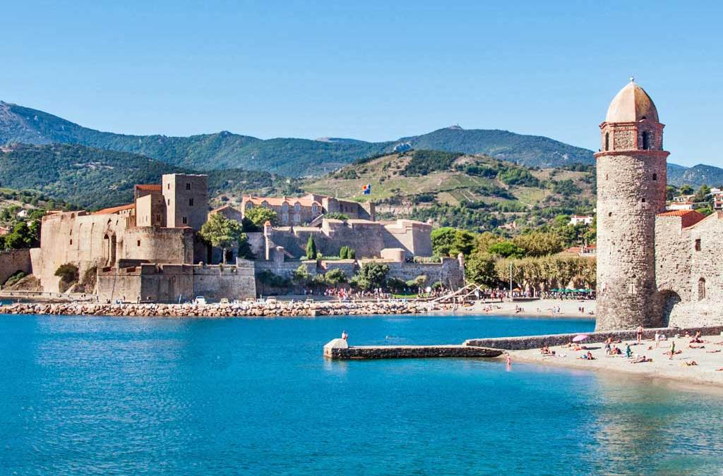 France - Bay of Collioure.