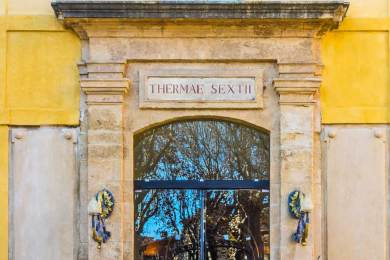 Fr - Aix Thermes of Sextius.