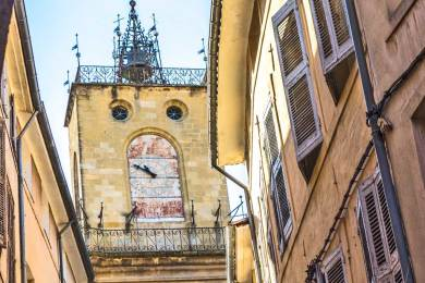 FR - Aix Clock Tower.