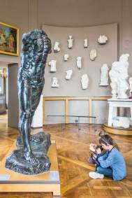 Auguste Rodin, The Walking Man.