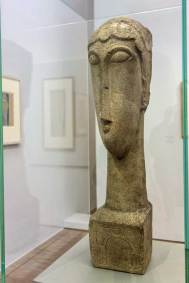 Modigliani, 1912, Woman's Head