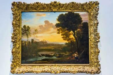 France - Louvre-Lens Claude Lorrain.
