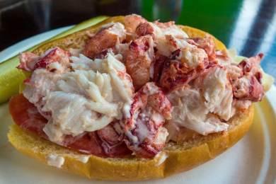 Ma-Marblehead lobster roll.