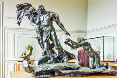 Camille Claudel, the Age of Maturity, Bronze.
