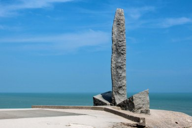 France-Pointe Hoc Stone