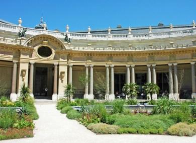 France-Paris Petit Palais Cloister.