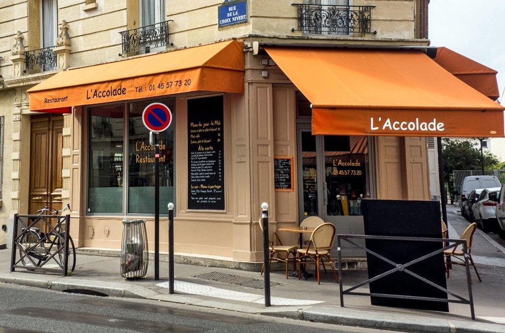 Restaurant L Accolade Paris
