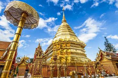 Chiang Mai-Wat Phra That Doi Suthep.