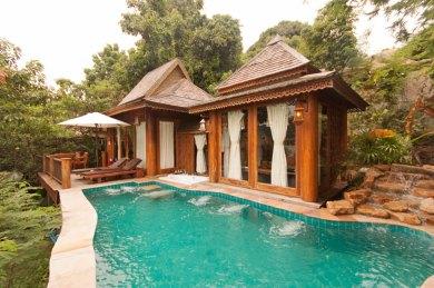 Santhiya - Villa 313 plunge pool.