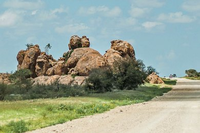 Khomas Highlands-Rock Formations