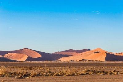 The Great Dunes around Sossusvleil.