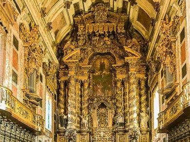 Porto-Se Rococo altar.