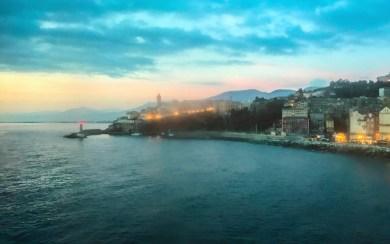Corsica-Bastia dawn.
