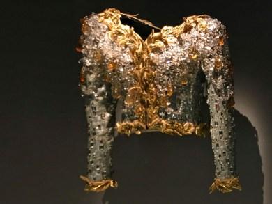 Paris YSL-jeweled jacket 1990.