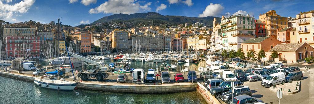 Corsica-Bastia Panorama.