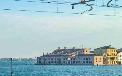 Italy-Venice train.