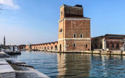 Venice-Arsernale factories.