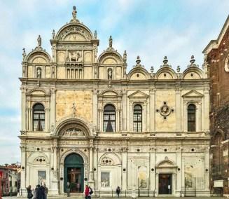 The Venetian Renaissance Scuala de San Marco is now the city's public hospital.