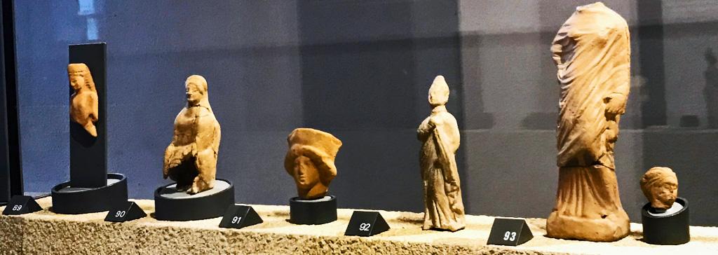 Padua- Tanagra figurines.