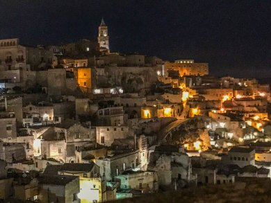Matera-Barisano night.
