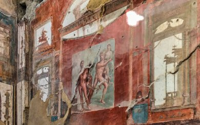 Herculaneum-Augustales frescoes.