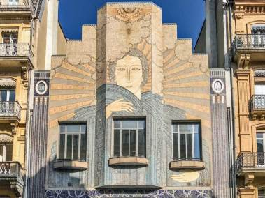 Art Deco offices of major local newspaper,  La Depeche du Midi, (circa 1932).