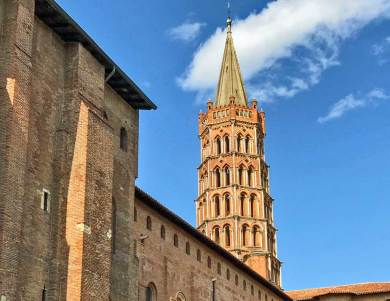 Toulouse -St Sernin bell tower.