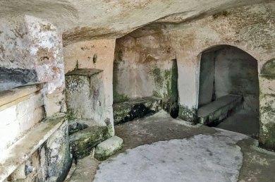 Matera-Sasso Ceveoso cave.