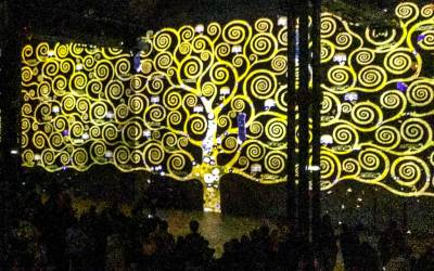 Atelier - Klimt tree of life.