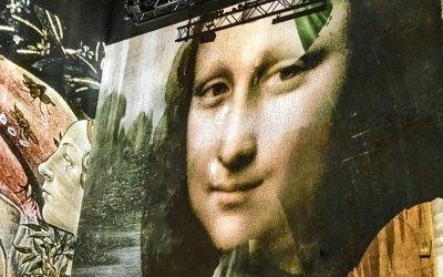 A nod to Leonardo Da Vinci.