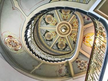 Riga-Art Nouveau staircase.