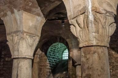 Dijon-Saint Benigne crypt.
