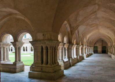Abbey of Fontenay -t he cloister.