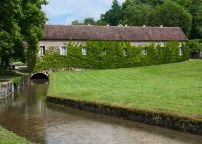 Abbey of Fontenay - Exterior farming facility.
