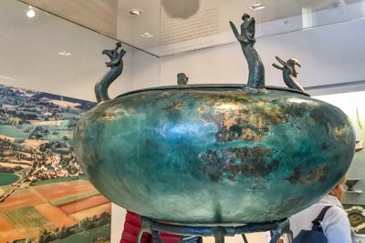 The Treasure of Vix - Celtic bronze vessel.