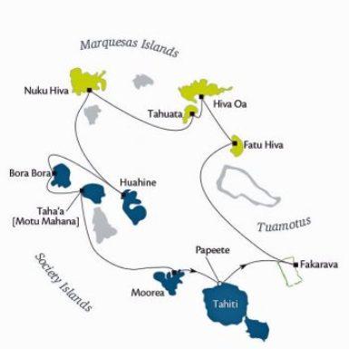 Tahiti-Gauguin cruise.