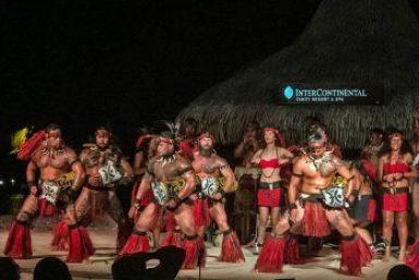 Papeete-Marquesas dancers.